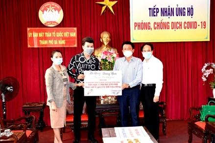 Đà Nẵng: Mặt trận tiếp nhận hơn 2,8 tỷ đồng ủng hộ phòng, chống dịch Covid-19