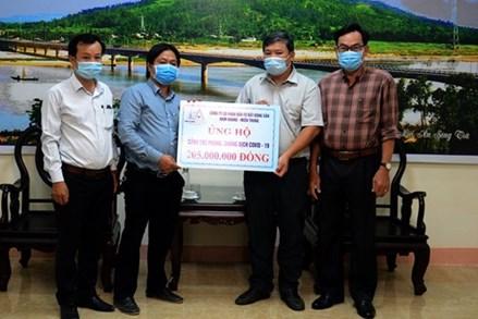 Ủy ban Mặt trận Tổ quốc Việt Nam tỉnh Quảng Ngãi tiếp nhận gần 5 tỷ đồng phòng, chống dịch Covid-19