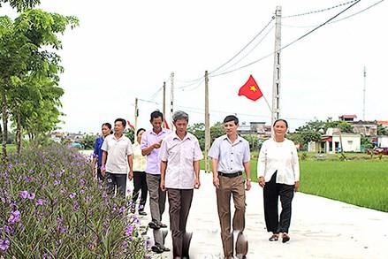 Đoàn kết toàn dân xây dựng nông thôn mới bền vững