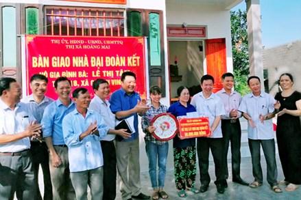 """Những ngôi nhà """"Đại đoàn kết"""" ở Nghệ An"""