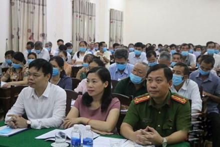 Thanh Hóa: Tập huấn công tác Mặt trận năm 2020