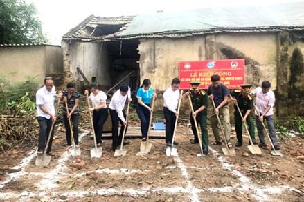 Thái Nguyên: Khởi công xây dựng Nhà đại đoàn kết cho hộ nghèo