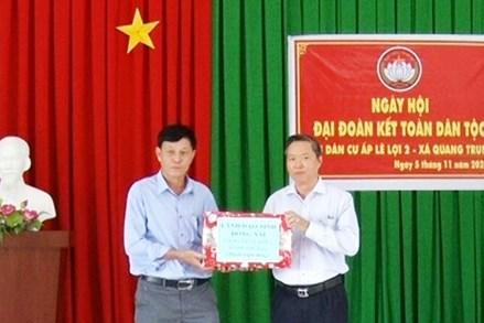 Đồng Nai: Ngày hội Đại đoàn kết toàn dân tộc tại ấp Lê Lợi 2, xã Quang Trung, huyện Thống Nhất