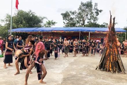 Gia Lai: Ngày hội Đại đoàn kết toàn dân tộc làng Kuk Đak