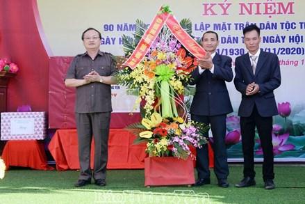Hưng Yên các khu dân cư tổ chức Ngày hội đại đoàn kết toàn dân tộc