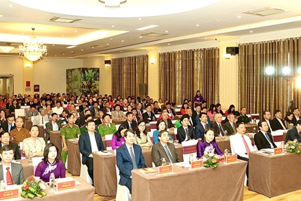 Ủy ban MTTQ tỉnh Ninh Bình gặp mặt kỷ niệm 90 năm Ngày truyền thống Mặt trận Tổ quốc Việt Nam