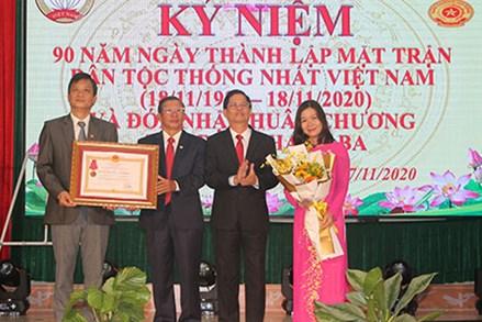 Khánh Hòa: Kỷ niệm 90 năm Ngày thành lập Mặt trận Dân tộc Thống nhất Việt Nam – Ngày truyền thống MTTQ Việt Nam
