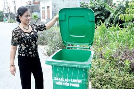 MTTQ Thái Bình tham gia bảo vệ môi trường và ứng phó với biến đổi khí hậu