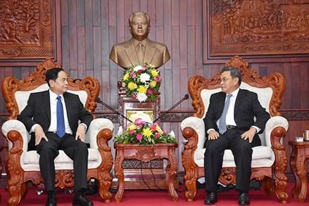 Điện mừng Quốc khánh Cộng hòa Dân chủ Nhân dân Lào