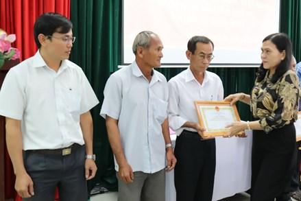 """MTTQ huyện Gò Dầu (Tây Ninh): Vận động gần 3 tỷ đồng cho """"Quỹ vì người nghèo"""""""