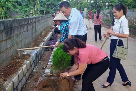 Huyện Lạc Thủy(Hòa Bình): Xây dựng nếp sống mới, văn minh ở thôn, xóm, khu dân cư