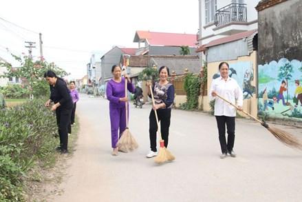 Bắc Giang: Các cấp hội phụ nữ đa dạng hoạt động bảo vệ môi trường