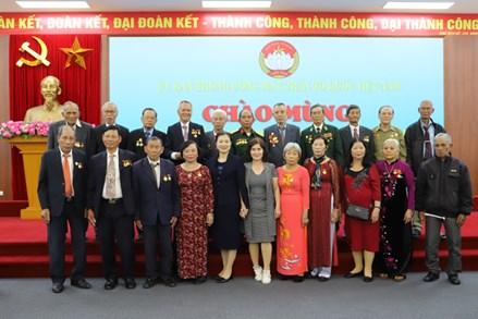 Phó Chủ tịch Trương Thị Ngọc Ánh tiếp Hội Cựu tù chính trị yêu nước