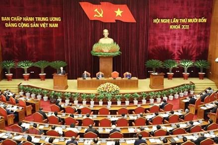 Ngày làm việc thứ ba Hội nghị thứ 14 Ban Chấp hành TW Đảng khóa XII