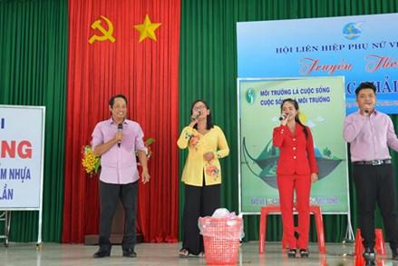 Phụ nữ Tiền Giang tích cực tham gia bảo vệ môi trường