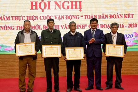 """Ủy ban MTTQ tỉnh Điện Biên sơ kết 5 năm thực hiện Cuộc vận động """"Toàn dân đoàn kết xây dựng nông thôn mới (NTM), đô thị văn minh"""", giai đoạn 2016 – 2020"""