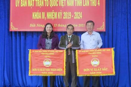 Đắk Nông: Tổng kết công tác Mặt trận năm 2020 và triển khai nhiệm vụ năm 2021