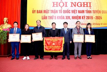 Hội nghị Ủy ban MTTQ tỉnh Tuyên Quang  lần thứ 5