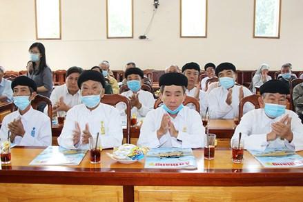 An Giang: MTTQ huyện Chợ Mới họp mặt chức sắc, chức việc, các tôn giáo, dân tộc