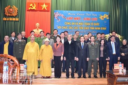 Ninh Bình: Gặp mặt các chức sắc tôn giáo nhân dịp xuân Tân Sửu 2021