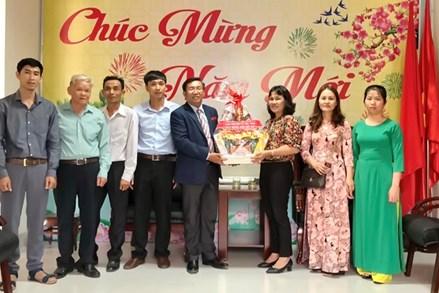 Giáo hội Baptist Việt Nam chúc tết UBMTTQ Việt Nam tỉnh Tây Ninh