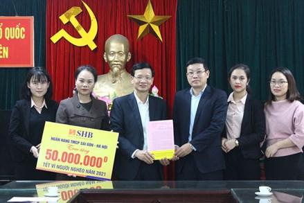 Ủy ban MTTQ tỉnh Thái Nguyên:Tiếp nhận ủng hộ Tết vì người nghèo