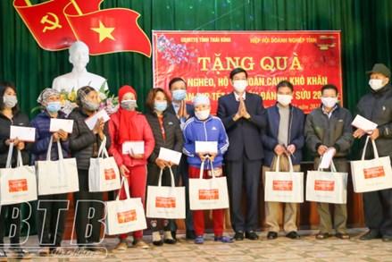 MTTQ các cấp tỉnh Thái Bình: Chăm lo tết cho người nghèo