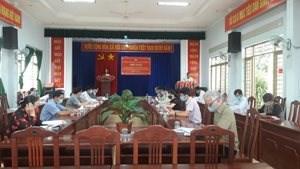 Chư Păh, Krông Pa (Gia Lai): Tổ chức Hội nghị hiệp thương lần thứ nhất bầu cử đại biểu Hội đồng nhân dân huyện, nhiệm kỳ 2021-2026