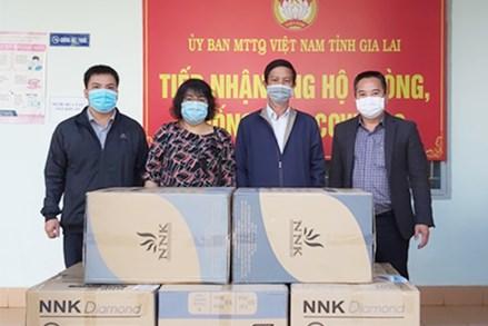 Gia Lai: Tiếp nhận thêm 50 ngàn khẩu trang y tế và nhiều nhu yếu phẩm ủng hộ phòng-chống dịch Covid-19