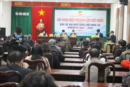 Ủy ban MTTQ Việt Nam tỉnh Thừa Thiên - Huế tổ chức hội nghị hiệp thương lần thứ nhất bầu cử đại biểu Quốc hội khóa XV, nhiệm kỳ 2021-2026