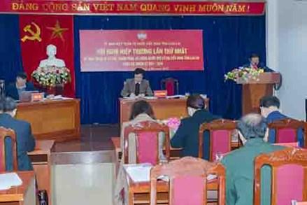 Lào Cai hiệp thương, dự kiến nhân sự ứng cử Đại biểu Quốc hội