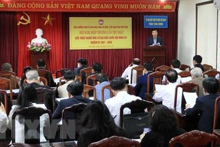 Thái Bình tổ chức hội nghị hiệp thương lần thứ nhất