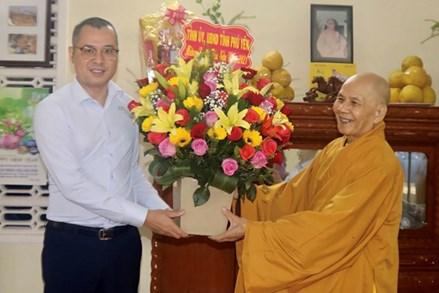 Phú Yên: Lãnh đạo tỉnh thăm, chúc Tết chức sắc tôn giáo