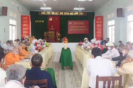 Bắc Bình (Bình Thuận): Họp mặt chức sắc các tôn giáo, dân tộc, người tiêu biểu
