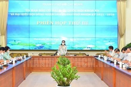 TP Hồ Chí Minh: Chuẩn bị tốt hội nghị cử tri nơi cư trú