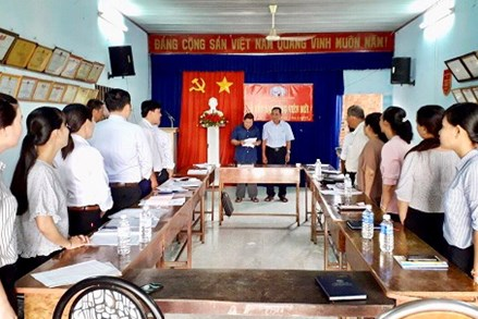 Đảng bộ Thị trấn Châu Thành: Chú trọng phát triển Đảng là người công giáo