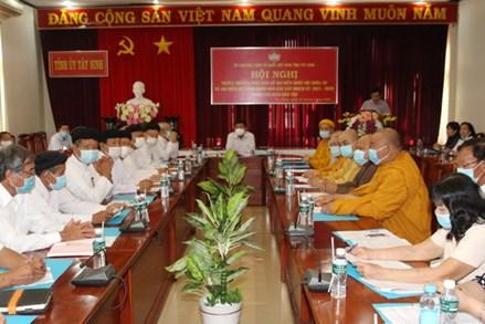 Tây Ninh: Tuyên truyền cuộc bầu cử đại biểu Quốc hội khóa XV và đại biểu HĐND các cấp nhiệm kỳ 2021-2026 trong tôn giáo, dân tộc