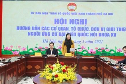 Hà Nội: Không để xảy ra sai sót trong các bước chuẩn bị bầu cử
