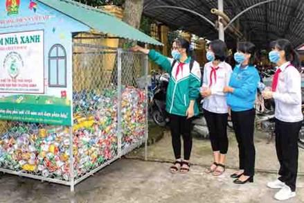 Phân loại rác trong trường học - Mô hình cần nhân rộng