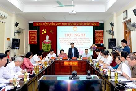 Tuyên Quang: Hội nghị hiệp thương lần thứ hai, lập danh sách sơ bộ người ứng cử đại biểu Quốc hội khóa XV