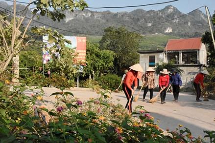 Chung tay xây dựng nông thôn mới ở Mường Sang
