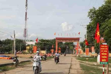 Làng Chăm Thành Tín xây dựng nông thôn mới