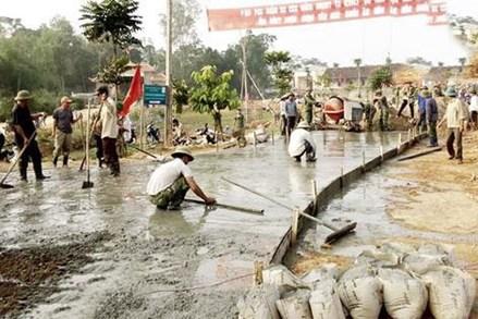 Giáo dân Hùng Sơn đoàn kết xây dựng thôn mới kiểu mẫu