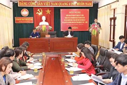 Ninh Bình: Phát huy vai trò cán bộ Mặt trận ở cơ sở trong công tác bầu cử