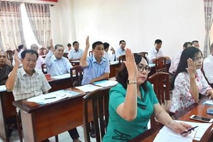 Kiên Giang: Tổ chức hội nghị hiệp thương lần ba