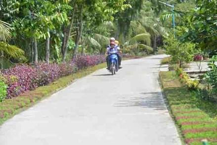 Đồng bào Khmer chung sức xây dựng quê hương