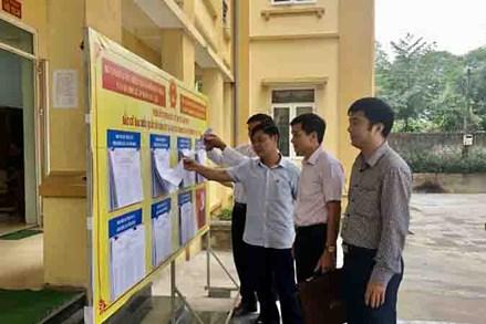 MTTQ các cấp huyện Cẩm Thủy phát huy vai trò, trách nhiệm trong công tác bầu cử
