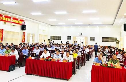 Ủy ban Mặt trận Tổ quốc Việt Nam tỉnh Khánh Hòa: Gặp mặt các ứng cử viên đại biểu Quốc hội và HĐND tỉnh