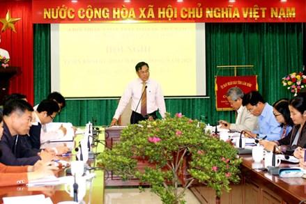 Lâm Đồng: Khối thi đua Mặt trận - Đoàn thể ký kết giao ước thi đua 2021
