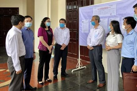Ủy ban MTTQ tỉnh Thanh Hóa tổ chức Hội nghị tiếp xúc cử tri, vận động bầu cử tại đơn vị bầu cử số 4
